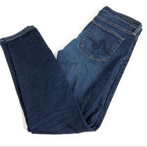 AG The Prima Mid Rise Cigarette Jeans 28